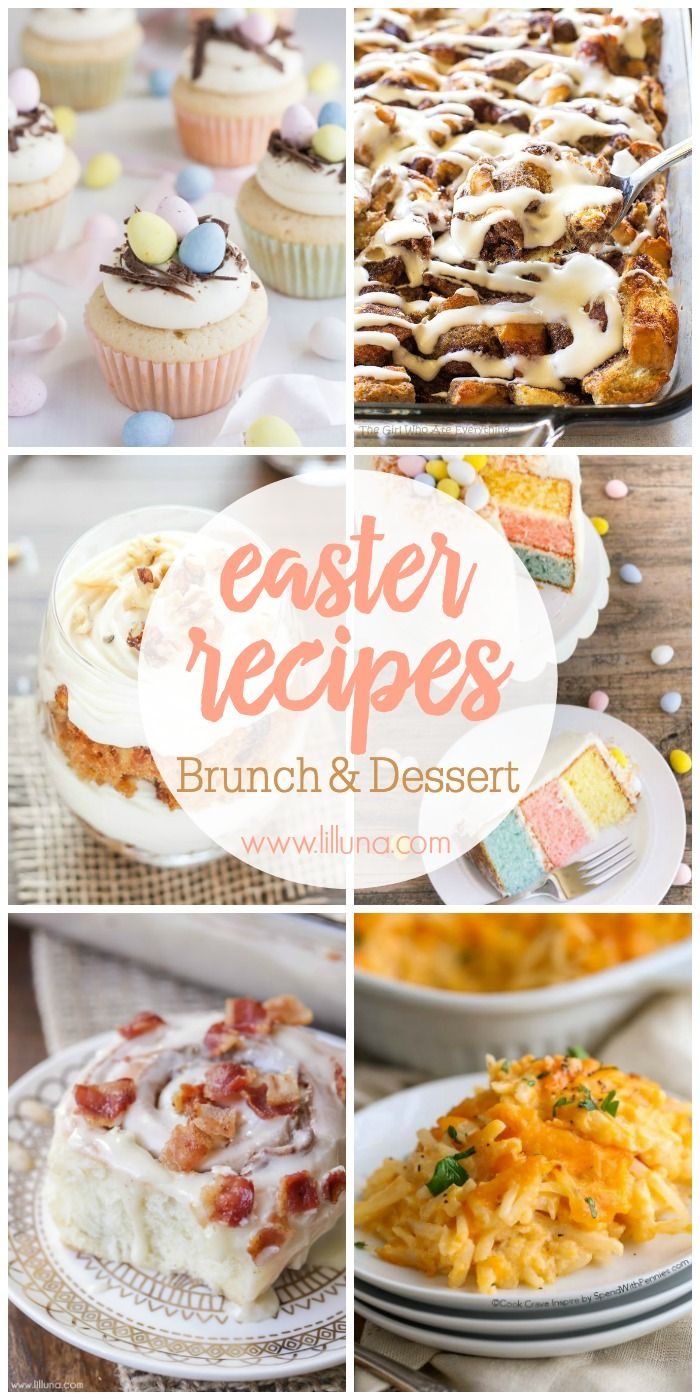 30 easter recipes a handful of the best brunch recipes for Best easter brunch recipes