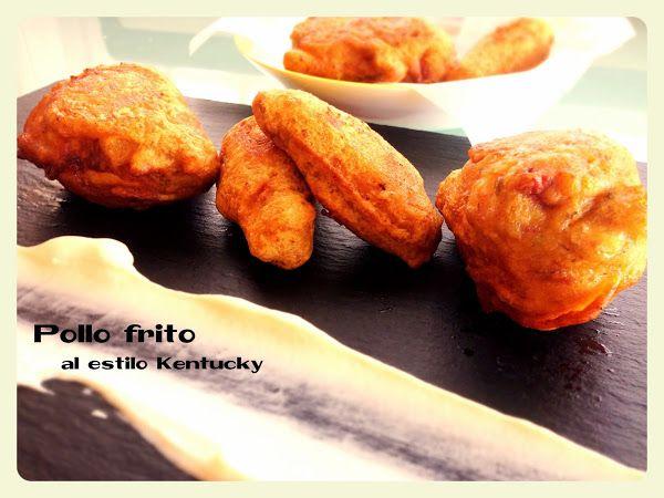 Pollo frito: Una versión del pollo Kentucky