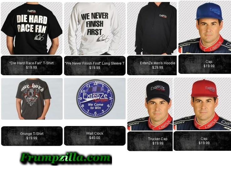 Extenze settlement offers NASCAR merchandise to consumer.