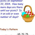 Math Meeting by Saxon 3rd Grade math for each lesson.  This bundle begins at Lesson 1 and goes through Lesson 15-2.  I have put the Math Meeting it...