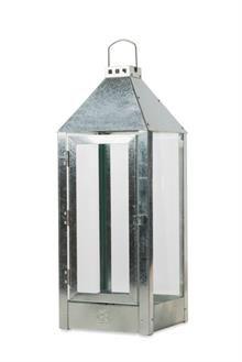 A2 living lanterne - 40003 -  galvaniseret - 22,5x22,5x60cm