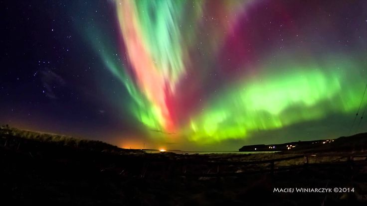 The Aurora Borealis, also know as the Northern Lights have been a wonder for many years. The Northern Lights are so magnificent and can be seen from certain spots of Canada.