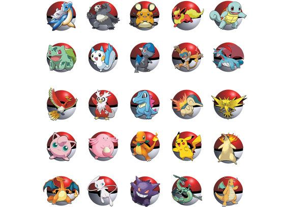 This Pokemon themed Centerpiece is available as an INSTANT DOWNLOAD. It includes 25 popular Pokemon characters for you to choose from. Digital files will be available for download immediately after purchase. Product details: 8.5 x 11 DIGITAL FILE PDF format and JPG available Materials youll need to complete this project: color printer 8.5 x 11 white paper or card stock scissors or craft knife and cutting mat hole punch (optional, you could also cut slits for the ribbon) ribbon, baker's t...