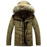 2014 new arrival men's winter jacket fur collar men's down jacket thick outdoors parka men's coat high quality 070902