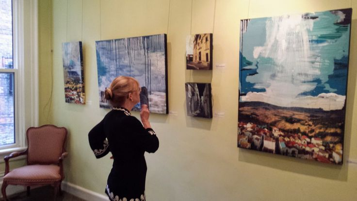 Art installation - solo show at The Women's Art Association of Canada