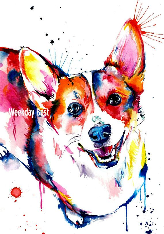 Reasons to get (or paint) a portrait of your pet. =3 Inspiration of doing the fuzzbutt four.