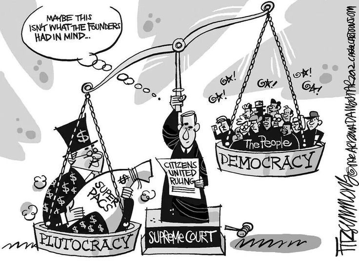 A Plutocracy vs a Democracy - The People lose...