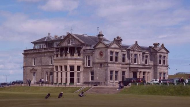 One date, two decisions. (Pic) Royal & Ancient Golf Club Clubhouse in St Andrews