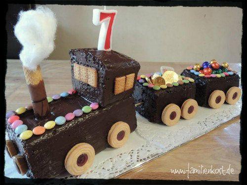 Bilden Sie Kuchen aus   – Kindergeburtstag