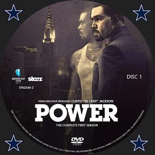 Power Season 1 Disc 1 DVD Label