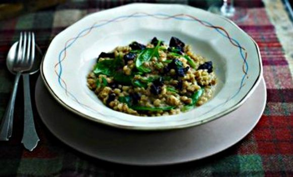 Pearl Barley Risotto Stornoway Black Pudding | Tom Kerridge