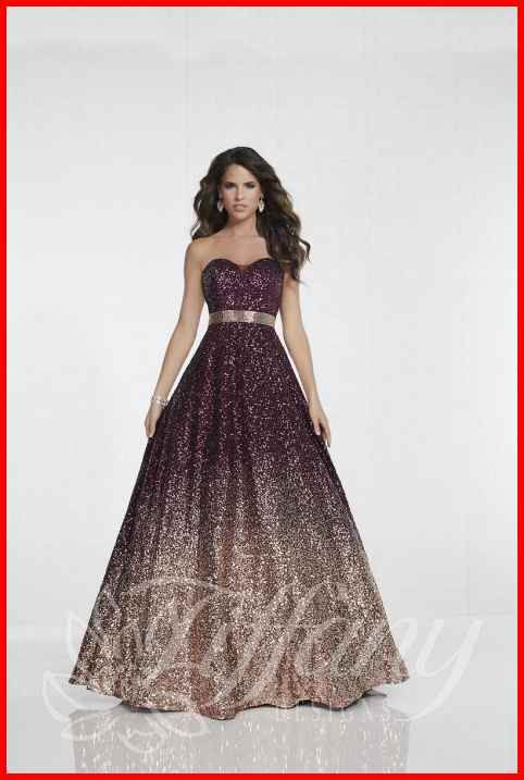 b24f6ad0cd Tiffany Designs 16264 Ombre Sequin Prom Gown  French Novelty in 2019 ...