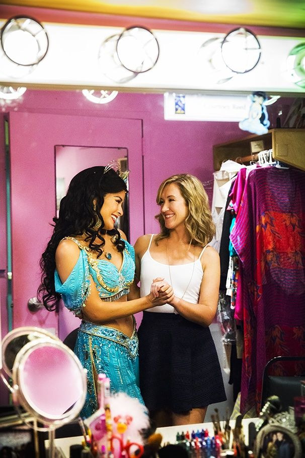 ALADDIN star Courtney Reed's dresser Jackie Gehrt on first impressions, healthy obsessions & being part of Team Jasmine. #pinoftheday