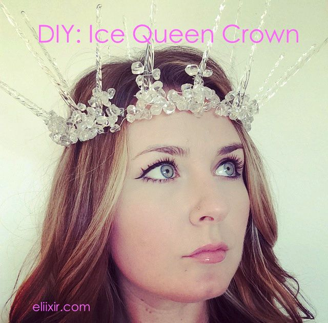 DIY: How to Make an Ice Queen Crown | Perfect for a Halloween costume!