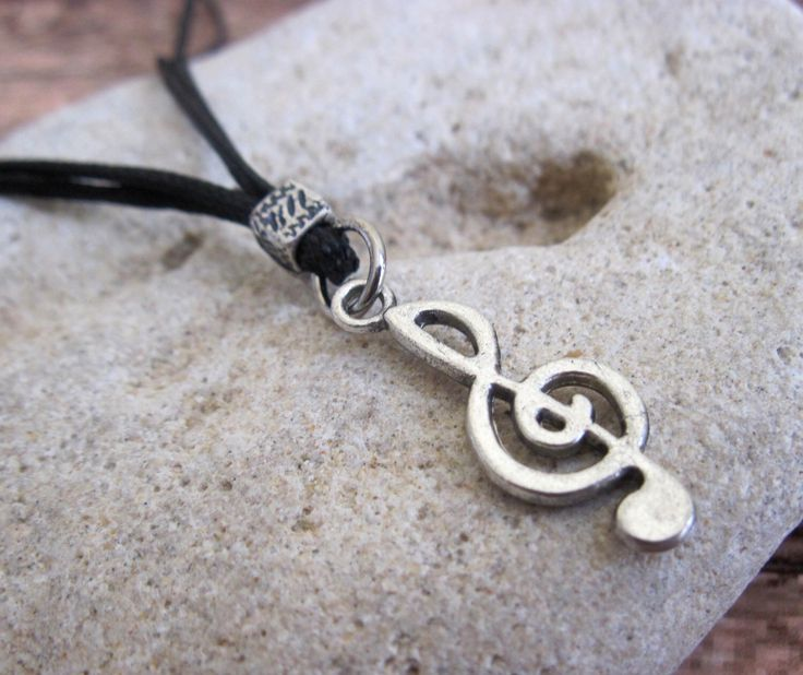 Men's Necklace - Men's Treble Clef Necklace - Men's Silver Necklace - Mens Jewelry - Necklaces For Men - Jewelry For Men - Gift for Him by Galismens on Etsy https://www.etsy.com/listing/227172066/mens-necklace-mens-treble-clef-necklace