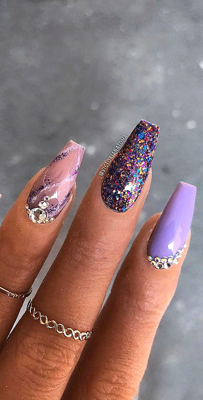 Attractive Nail Designs For The Summer Of 2019 French Nail