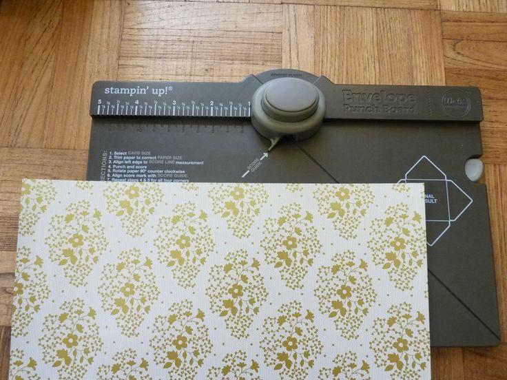 Tutoriel : Boîte avec Insta' Enveloppe