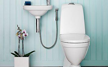 Toalettstol Nautic 5500 - dolt s-lås