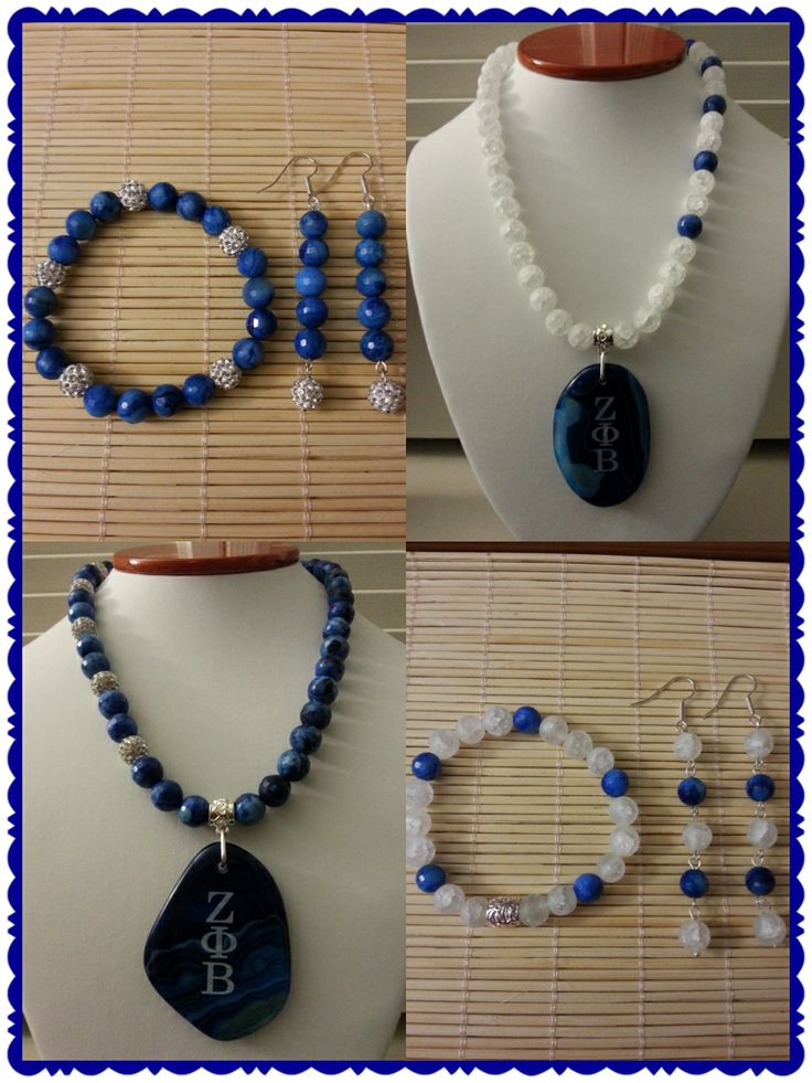 My Custom made Zeta jewelry