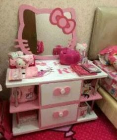 Image Result For Hello Kitty Drawer Cabinet Design