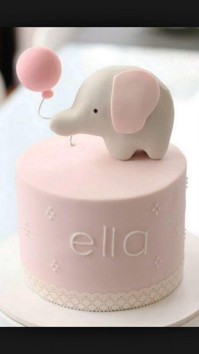 Best Cakes St Birthday Images On Pinterest St Birthday - 1st birthday cake girl