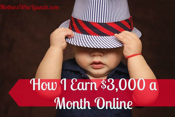Get the strategy on making $3,000 online, part-time, while staying home with your kids. :-) It takes some hard work, but can absolutely be done! Leave me a comment and let me know how you earn money from home as a wahm, sahm or mompreneur. MothersWhoLaunch.com