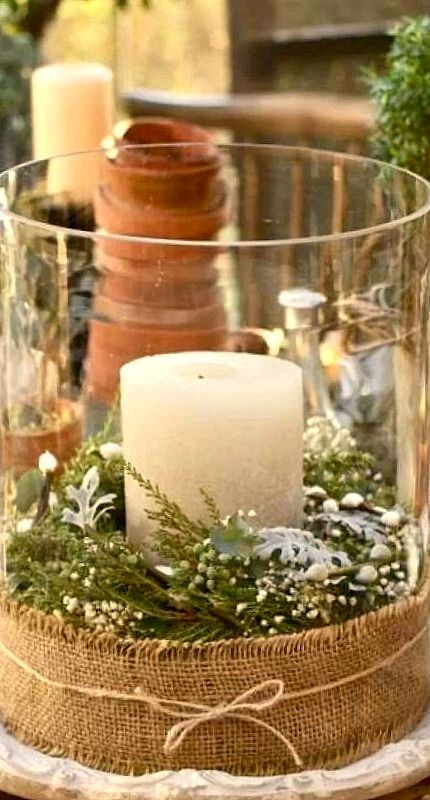 creative DIY candle....