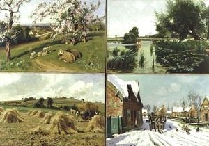The Four Seasons  Arthur Walker Redgate