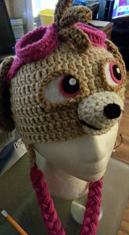 (4) Name: 'Crocheting : June Skye Hat