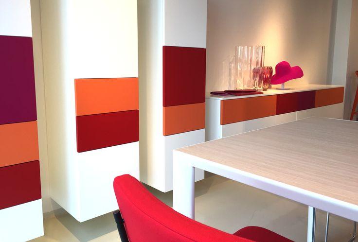 closets - orange design - style