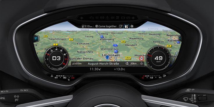 Audi virtual cockpit - Map Colors | Car UI | Pinterest | Maps ... | {Auto cockpit straße 90}
