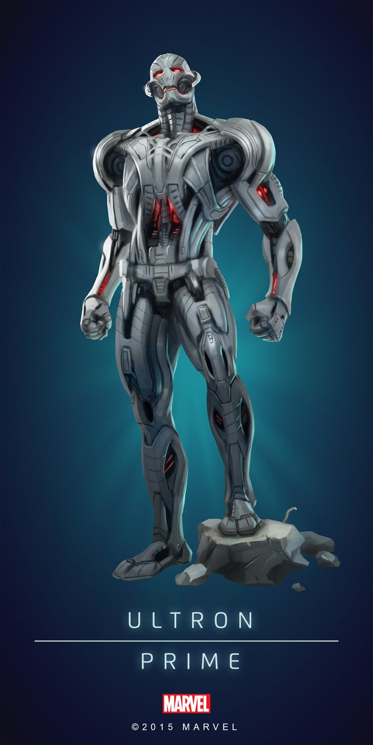 #Ultron #Fan #Art. (ULTRON - PRIME IN: MARVEL'S PUZZLE QUEST!) BY: AMADEUS CHO! (THE * 5 * STÅR * ÅWARD * OF: * AW YEAH, IT'S MAJOR ÅWESOMENESS!!!™) [THANK U 4 PINNING!!!<·><]<©>ÅÅÅ+(OB4E)(IT'S THE MOST ADDICTING GAME ON THE PLANET, YOU HAVE BEEN WARNED!!!)