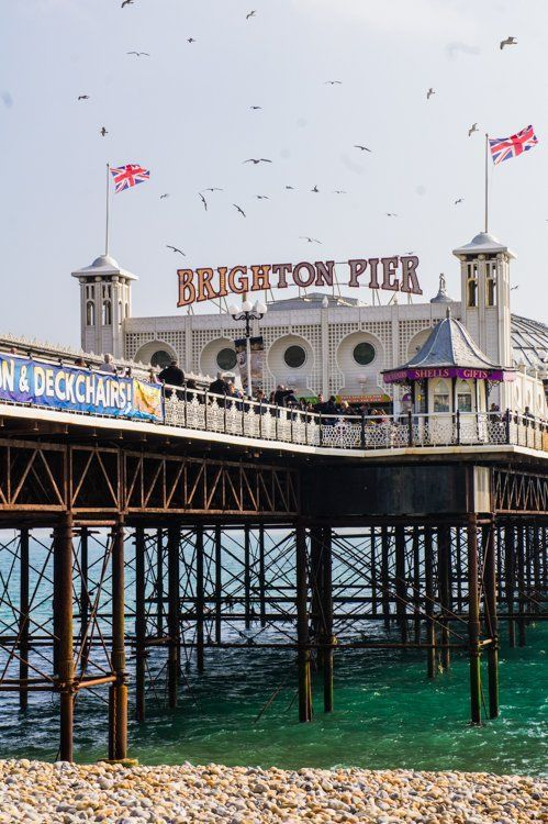 Brighton Pier --- A Weekend Road Trip to South England: Exploring the Iconic Jurassic Coast and New Forest Region | The Travel Tester