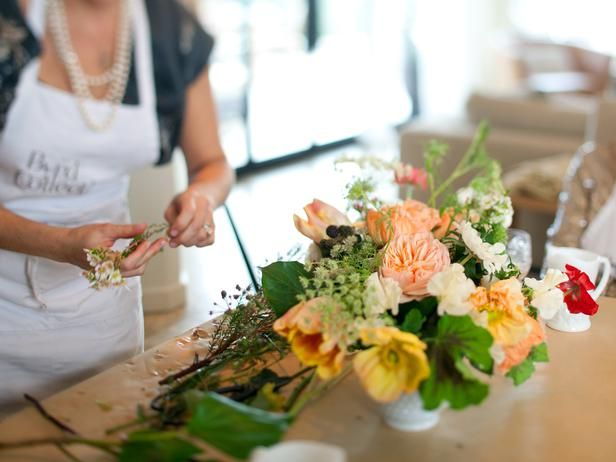 How to Make a Flower Arrangement: 7 Simple Tips from HGTV >> http://www.hgtv.com/entertaining/7-tips-for-creating-beautiful-flower-arrangements-at-home/pictures/page-5.html?soc=pinterest