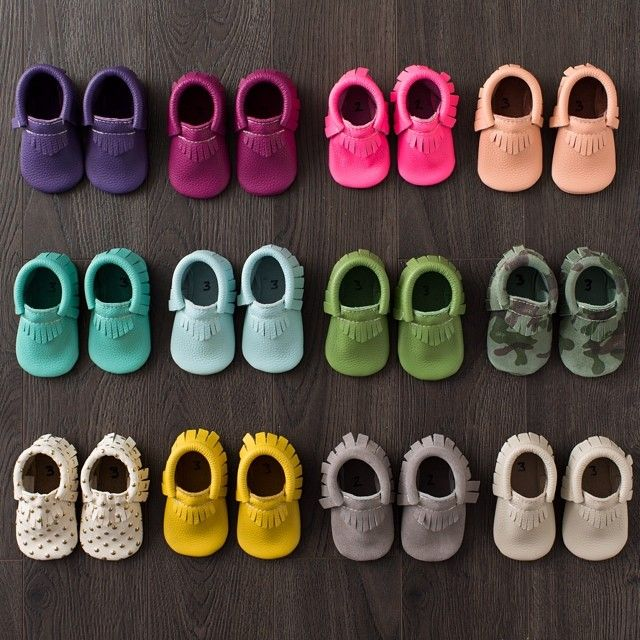 Baby girl needs these!! Freshly Picked moccasins