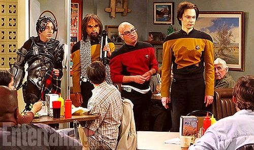 sneak peak at new episode... OMFG!! #star trek #data #picard #worf #borg