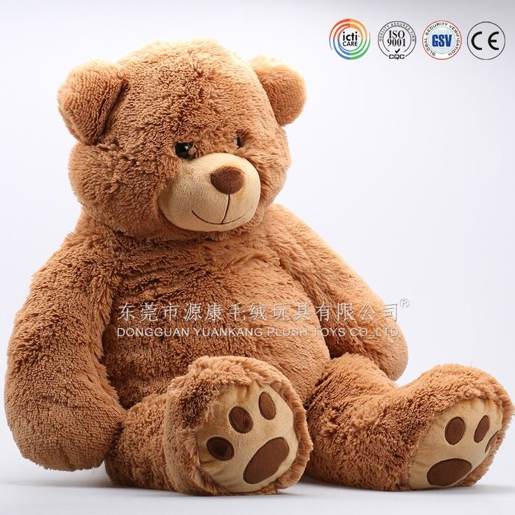 ICTI aduited factory customized giant teedy bear 100% soft plush & PP cotton filled giant teddy bear plush toy