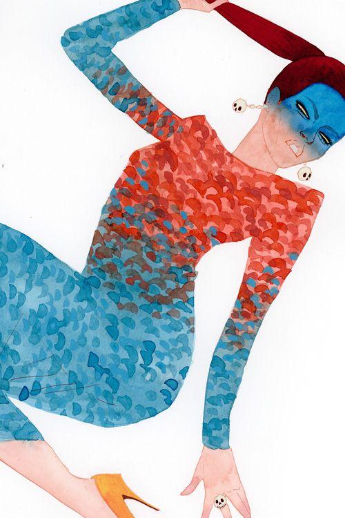 Kevin Wada Mystique- I love the coloring.