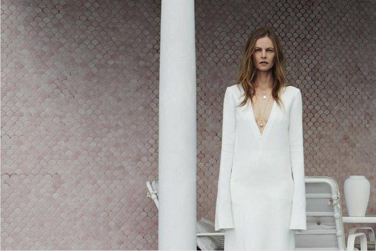 Emma Balfour for Russh Magazine 2014 - hair: Alan White ph: Pierre Toussaint makeup: Charlie Kielty fashion: Kym Ellery #hair #style #fashion #alanwhiteanthology #russh #magazine #ellery