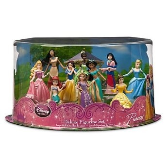 Amazon.com: Disney Princess Exclusive 10 Piece Deluxe ...