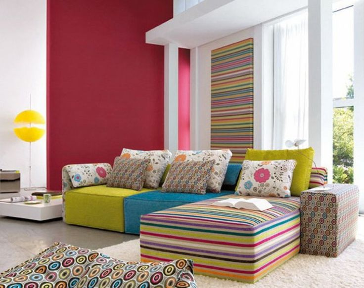 Find This Pin And More On Modern Bohemian Colorful Living Room Ideas