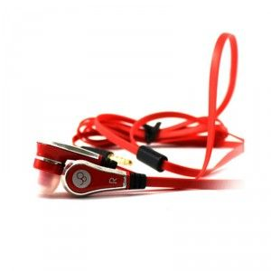 Molife M-ML-HFIPHONE In-the-ear Headset with Ultrabuds (Red) Bigbuy