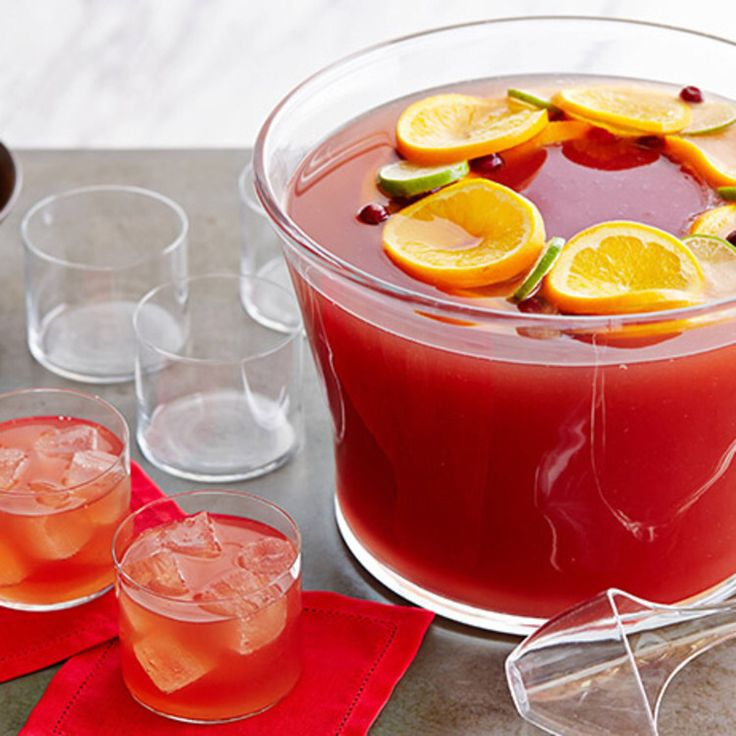 Cosmopolitan Fizz-Punch By Food Network Kitchen
