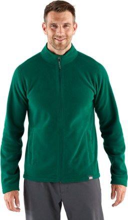 REI Co-op Men's Fleece Jacket Spirulina Green XXL