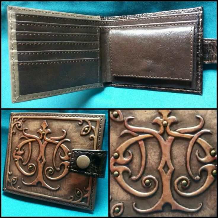 """This exclusive and high-quality leather purse """"Furmani"""" is decorated with a 3D stamping of monogram made manually.  Features: - 2 compartments for notes; - 4 compartments for credit cards; - 1 pocket for coins.  Dimensions: 105mm х 125mm  Contacts for orders  E-mail:furmani.exclusive@gmail.com  Viber/Whatsapp:380683835478Worldwide shipping  See more here: http://ift.tt/2oaHHNG #furmani #leatherpurse #leatherwallet #pursewithinitials #monogram #vintage #vintagestyle #craft #handmade…"""