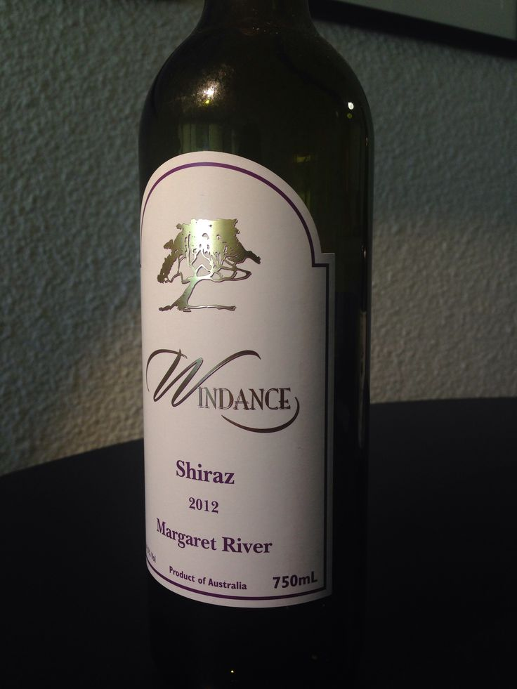 Windance Shiraz 2012 #MargaretRiver #WA Grown in the best of the Margaret River's well drained gravel loams renowned for premium wines. Dark Cherry appearance, heady aromas of berries and exotic spice. Smooth palate, French oak and subtle tannins provide a lovely background of vanilla and toast.  #Yallingup