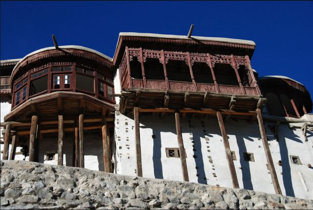 Baltit Fort is situated in the valley of Hunza in Pakistan. Erected on top of a hill it overlooks the whole valley. The fort was built some 600 years ago.