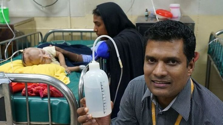 This Bangladeshi doctor who turned a shampoo bottle into a low-cost lifesaver