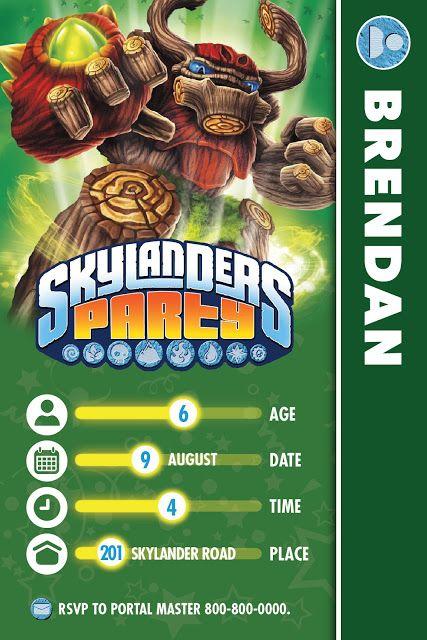 Best 25 Skylanders Ideas On Pinterest Skylanders Party