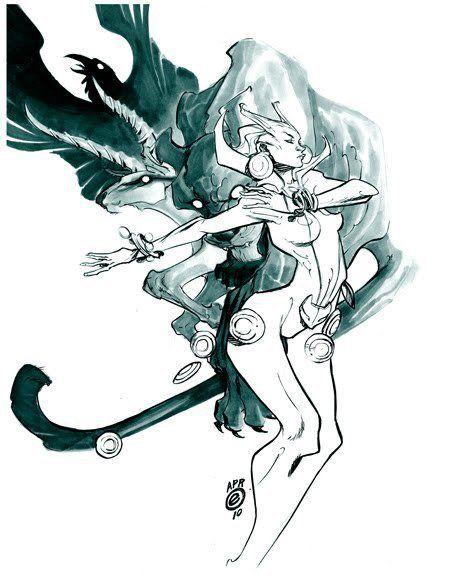 DC comics character Vixen.   Vixen by Eric Canete      ,